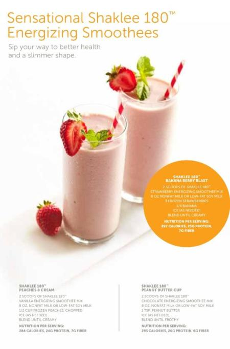 shaklee smoothies