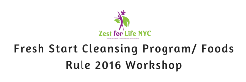 Fresh Start Cleansing Program- Food Rules! 2016 Workshop (1)