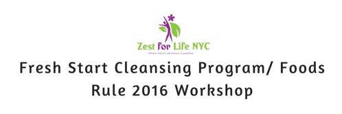 Fresh Start Cleansing Program- Food Rules! 2016 Workshop (1)